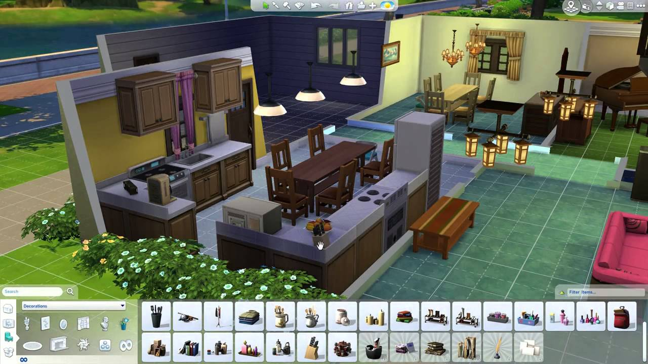 Family guy house building the sims 4 youtube for House plan guys