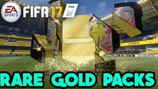 FIFA 17 |  RARE GOLD PACKS OPENING  |  Bonus Content : Gold Premium Packs Opening