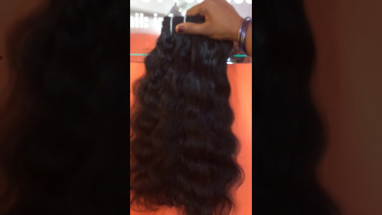 Raw Unprocessed Indian Natural Human Hair Factory Youtube