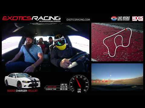 Diesel Brothers Ride Along at Exotics Racing Las Vegas!