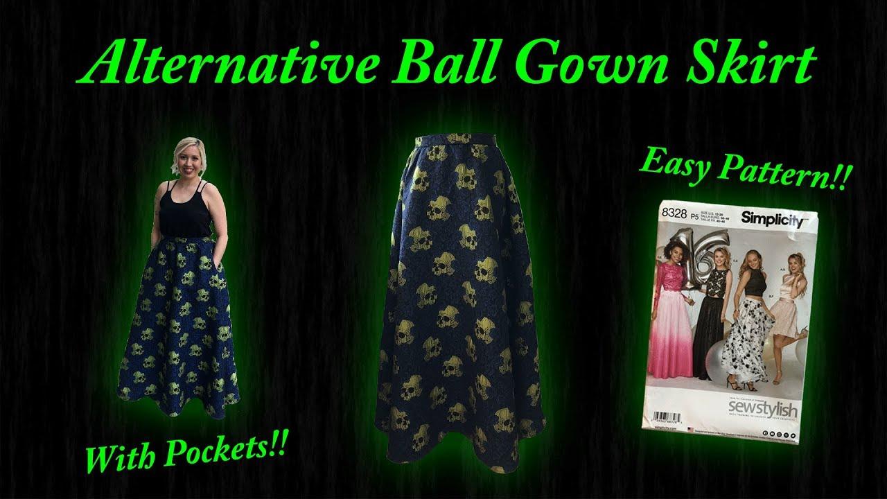 Alternative Ball Gown Skirt Youtube