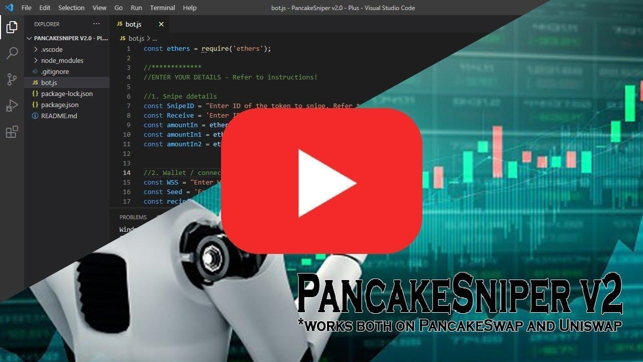 bot trade pancakeswap aumentare il succo di bitcoin promozione