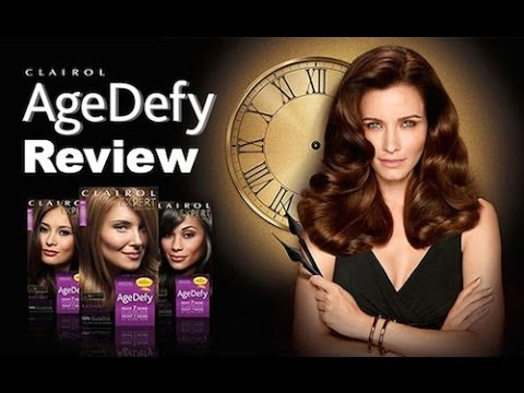 Clairol Age Defy Hair Color Review YouTube