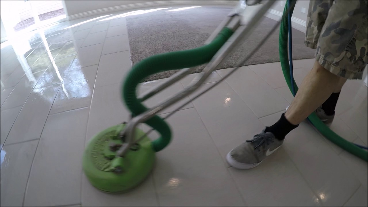 Porcelain tile grout cleaning youtube porcelain tile grout cleaning dailygadgetfo Choice Image