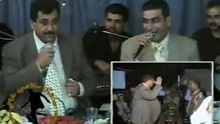 الشاعر ابو علي  البلوداني مع الشاعر وليد سركيس الدريج تحدي