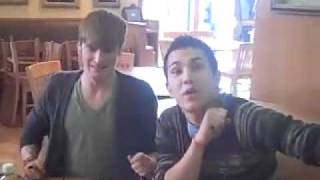BIG TIME RUSH Win Their Signed Valentine