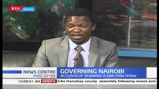 Why Governor Sonko urgently needs a deputy governor