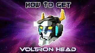 N/A How To Get The Voltron Head | Roblox Catalog Item