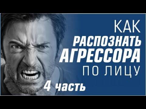 Физиогномика. Как распознать агрессора по лицу? 4 часть