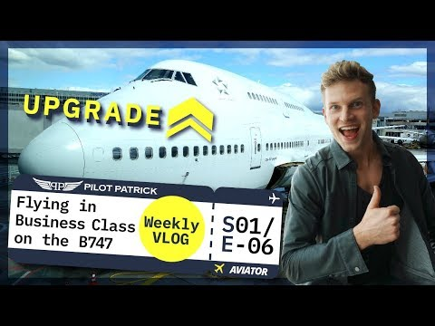 FLYING IN BUSINESS CLASS TO DUBAI I VLOG #6