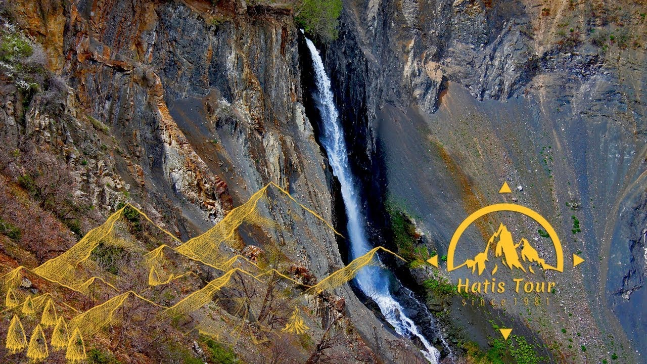 Spitakajur Waterfall / Սպիտակաջուր ջրվեժ / Водопад Спитакаджур - Hatis Tour