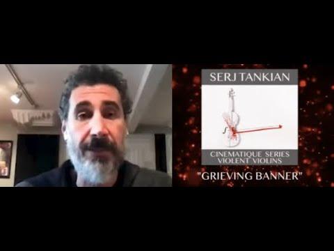 "SOAD's Serj Tankian debuts new song Grieving Banner"" off Cinematique"