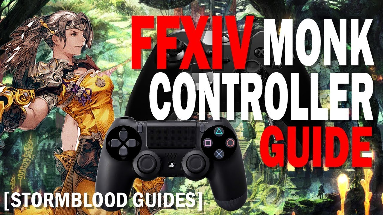 FFXIV Monk Controller and Macro Guide [Level 70]