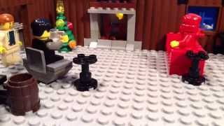 Lego Ninja Cat Mini Movies Season 1/6: Christmas Cheers (A Brick Film)