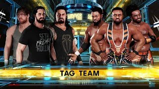 WWE Survivor Series: The Shield vs The New Day. WWE 2k18 Gameplay