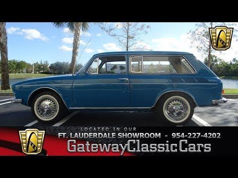590-FTL 1972 Volkswagen Variant Squareback