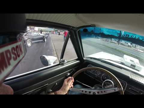 Our 1969 Hurst SC/Rambler at Eastside Speedway 1/8th mile helmet cam