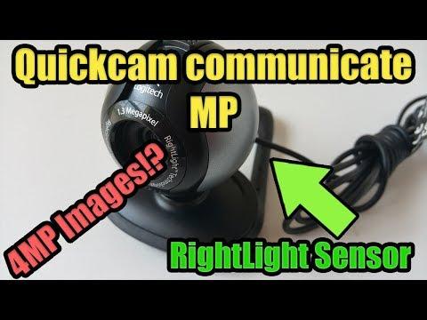 Logitech QuickCam Communicate MP, First Webcam Ever!?