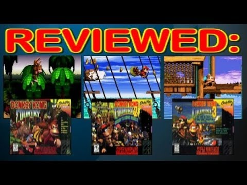 Reviewed: The Donkey Kong Country Trilogy
