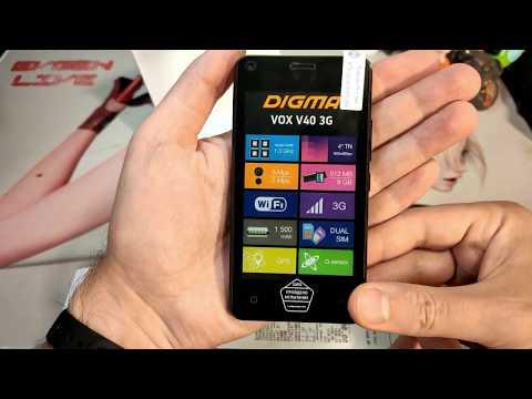 Смартфон за 690 руб из МТС Digma Vox V40