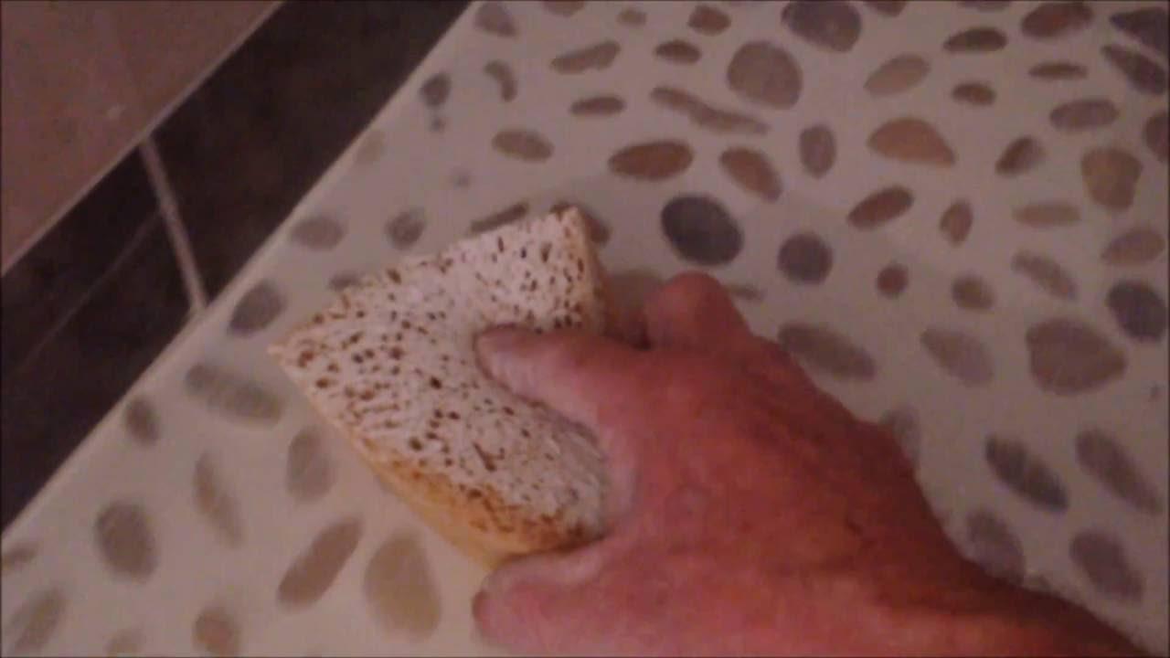 Comment Faire Les Joints Des Galet Cailloux, Douche   YouTube