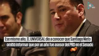 """Santiago Nieto, """"el transgresor"""""""