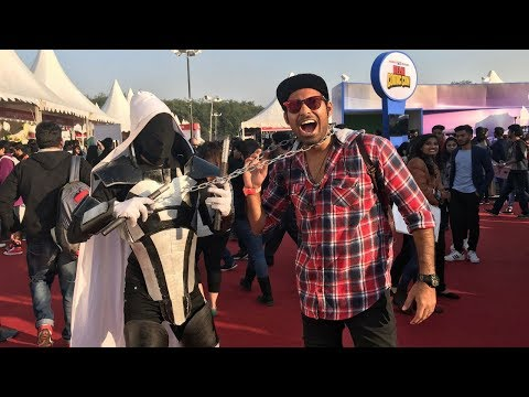 Comic Con Delhi 2017 | A Day With Superheroes