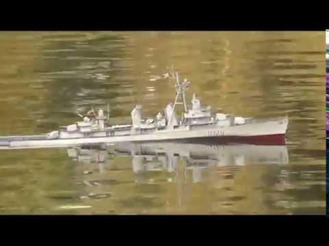 Zerstörer 5 (ex USS Dyson) - Modell von Volker Buske © - model by Volker Buske ©