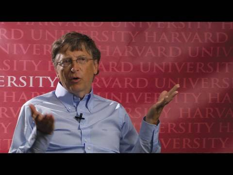 Bill Gates Harvard Crimson Exclusive Interview