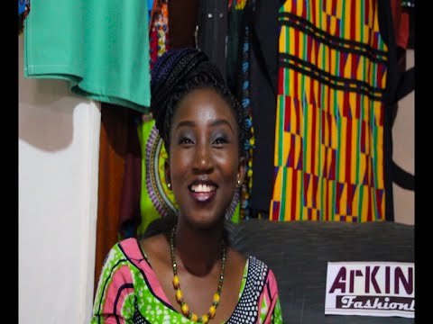 AFRICAN PRINT DESIGNS ON VOGUE GH WITH ARKINGS