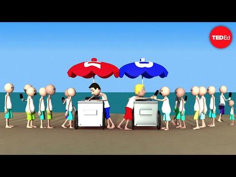 ทฤษฏีเกมส์ (game theory) และ จุดดุลยภาพของแนช (the Nash Equilibrium) กำหนดจุดเหล่านี้ได้อย่างไร