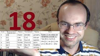 ПРАКТИЧЕСКИЙ КУРС ЧТЕНИЯ И ПРОИЗНОШЕНИЯ  УРОК 18 Английский язык  Уроки английского языка