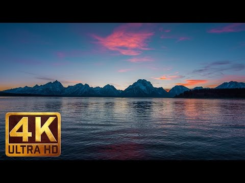 Jackson Lake and Snow-Capped Teton Mountains - 2 HRS Nature Relaxation Video in 4K -  Part 2