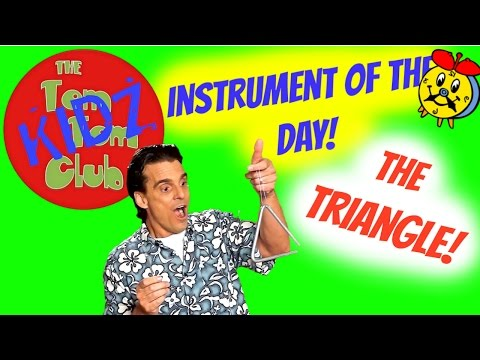 Music Instrument Sounds For Kids | Learn to play the Triangle!