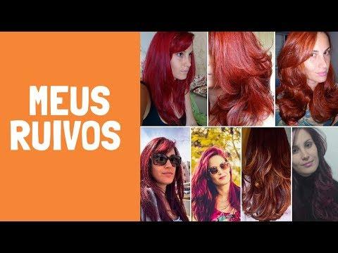 CORES DE RUIVO QUE JÁ USEI E QUAL MAIS GOSTO #RUIVA #RUIVOS #CORES #CABELOS #VERMELHOS