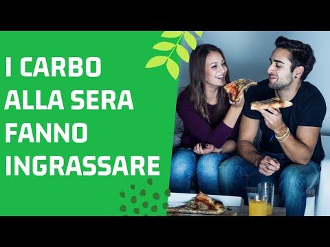 I Carboidrati Alla Sera FANNO INGRASSARE ! (Pasta e Pane poi...)