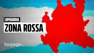 Firmata l'ordinanza, lombardia zona rossa dal 17 al 31 gennaio