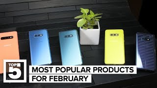 The most popular products on CNET (February 2019) (CNET Top 5)