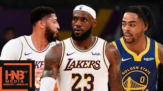 Golden State Warriors vs Los Angeles Lakers - Full Game Highlights | October 16, 2019 NBA Preseason