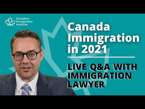 Canada Immigration 2021 - Live Q&A
