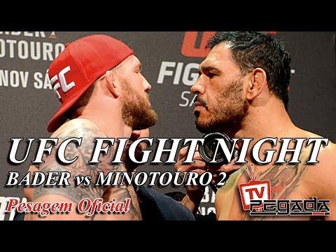 TV Pegada #0053 - Pesagem do UFC Fight Night SP 2016