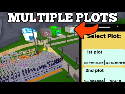 MULTIPLE PLOTS *UPDATE* + NEW CARDS For Bitcoin Miner ROBLOX