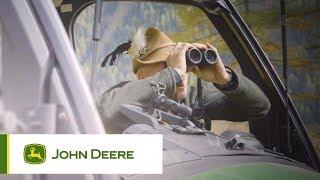 John Deere - Gator - Full opening windscreen