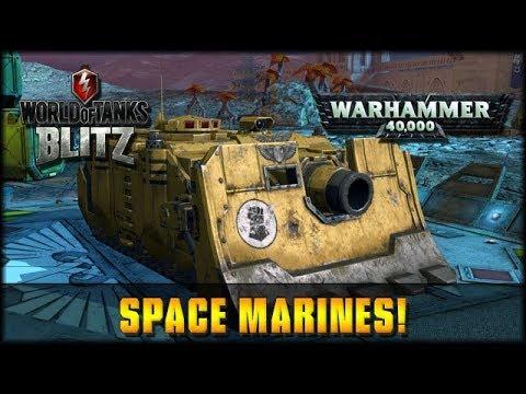 World of Tanks Blitz - Space Marines! [ deutsch | gameplay ]