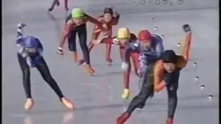 ▲2006/02/11▲ 足寄大会(TV版) 5年女 1000 スピードスケート