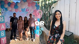 Come w me to my sisters Gender reveal! 💙💗