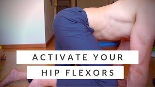 Hip flexor exercises for strength - basic + beginner level
