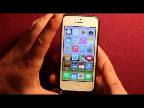 IPhone 5 - 5s Battery Case Works Great! 2200mah