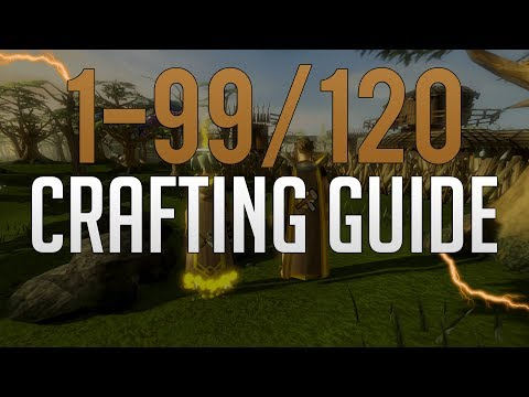 Runescape 3 1-99/120 Crafting Guide 2019