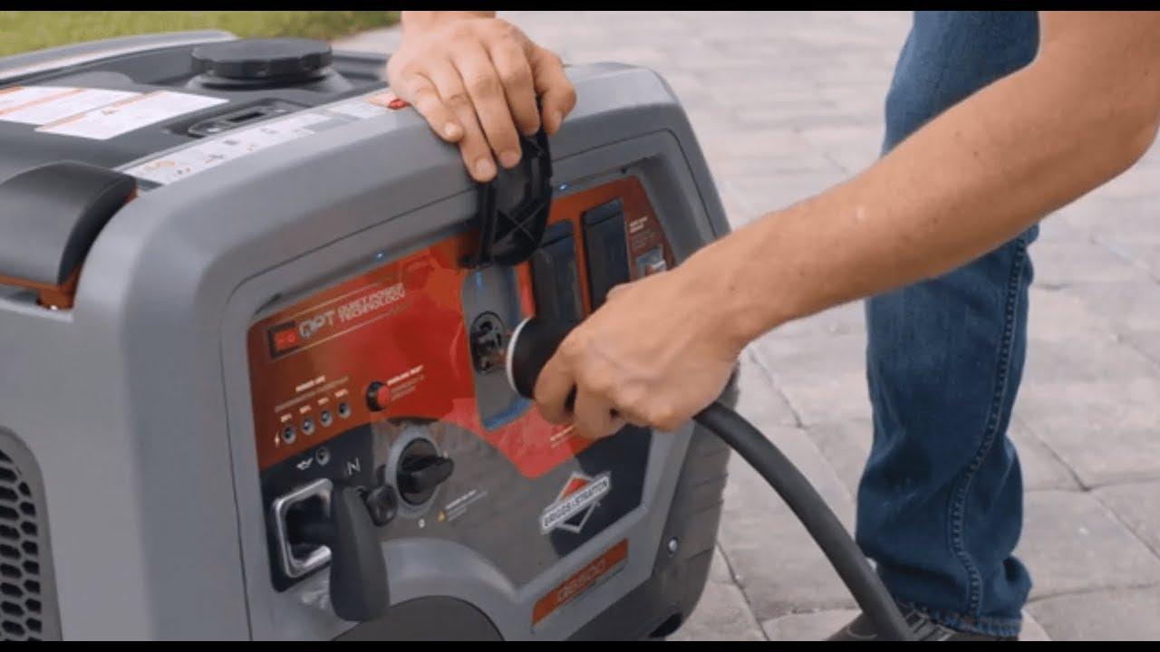 Review   Briggs & Stratton Q6500 QuietPower   Powerful Inverter